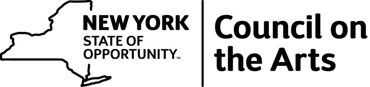 text saying new york state council of the arts