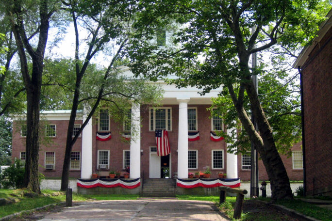 Exterior of the 3rd County Courthouse